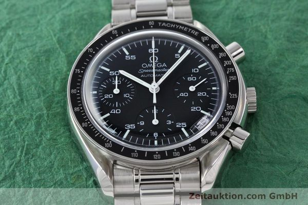 Used luxury watch Omega Speedmaster chronograph steel automatic Kal. 3220A  | 141675 16