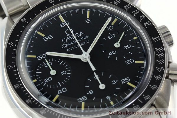 Used luxury watch Omega Speedmaster chronograph steel automatic Kal. 1143 ETA 2890A2  | 141678 02