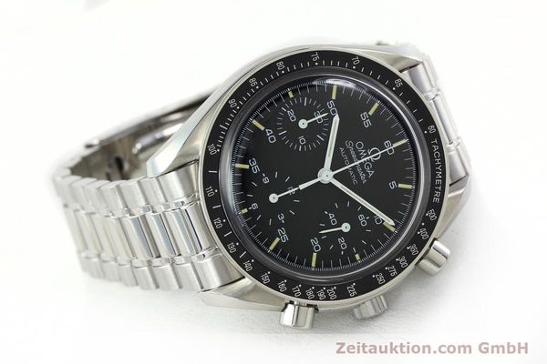 Used luxury watch Omega Speedmaster chronograph steel automatic Kal. 1143 ETA 2890A2  | 141678 03