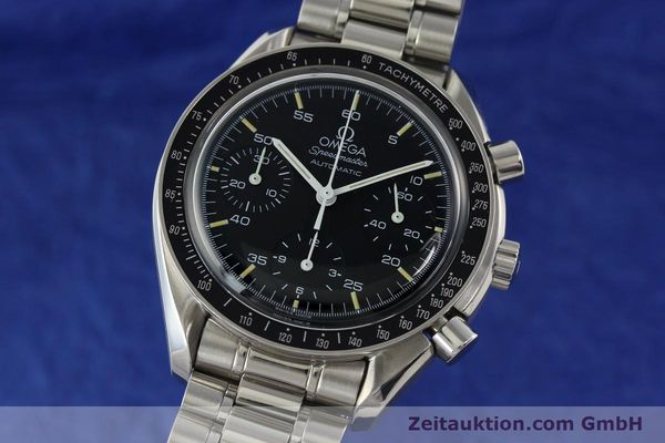Used luxury watch Omega Speedmaster chronograph steel automatic Kal. 1143 ETA 2890A2  | 141678 04