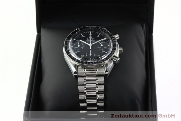 Used luxury watch Omega Speedmaster chronograph steel automatic Kal. 1143 ETA 2890A2  | 141678 07
