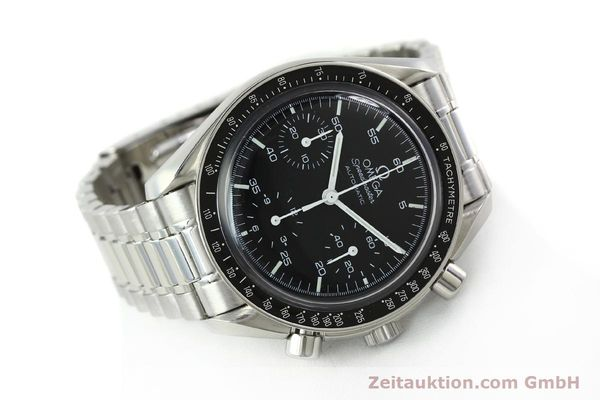 Used luxury watch Omega Speedmaster chronograph steel automatic Kal. 1143 ETA 2890A2 Ref. 35105000  | 141679 03