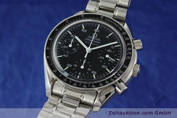 Used luxury watch Omega Speedmaster chronograph steel automatic Kal. 1143 ETA 2890A2 Ref. 35105000  | 141679 04