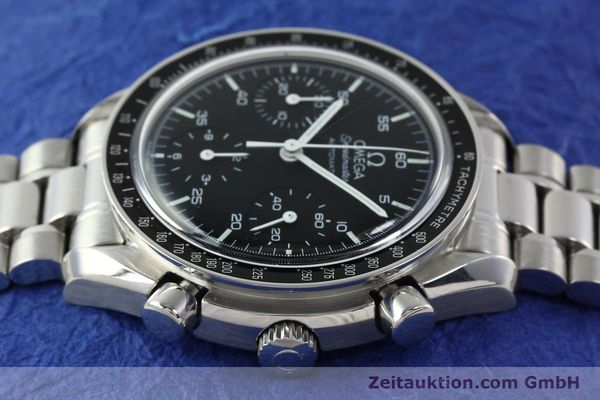 Used luxury watch Omega Speedmaster chronograph steel automatic Kal. 1143 ETA 2890A2 Ref. 35105000  | 141679 05