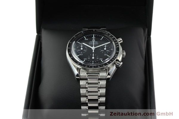 Used luxury watch Omega Speedmaster chronograph steel automatic Kal. 1143 ETA 2890A2 Ref. 35105000  | 141679 07