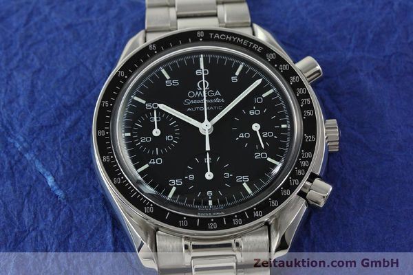 Used luxury watch Omega Speedmaster chronograph steel automatic Kal. 1143 ETA 2890A2 Ref. 35105000  | 141679 16