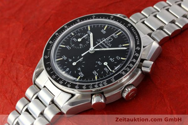 Used luxury watch Omega Speedmaster chronograph steel automatic Kal. 1140 ETA 2890-2  | 141681 01