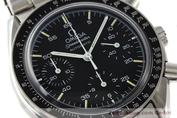 Used luxury watch Omega Speedmaster chronograph steel automatic Kal. 1140 ETA 2890-2  | 141681 02