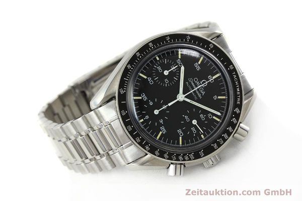 Used luxury watch Omega Speedmaster chronograph steel automatic Kal. 1140 ETA 2890-2  | 141681 03