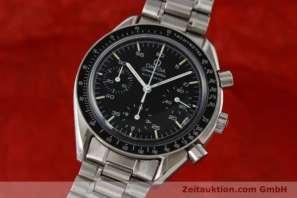 Used luxury watch Omega Speedmaster chronograph steel automatic Kal. 1140 ETA 2890-2  | 141681 04