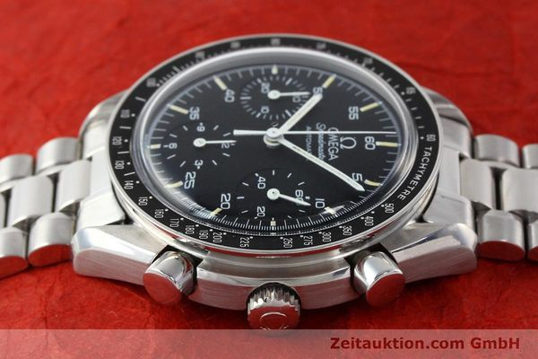 Used luxury watch Omega Speedmaster chronograph steel automatic Kal. 1140 ETA 2890-2  | 141681 05