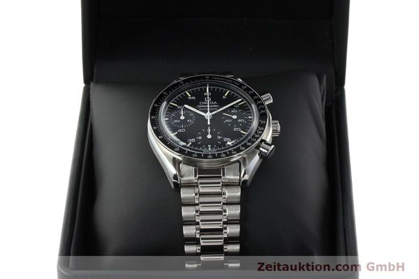 Used luxury watch Omega Speedmaster chronograph steel automatic Kal. 1140 ETA 2890-2  | 141681 07
