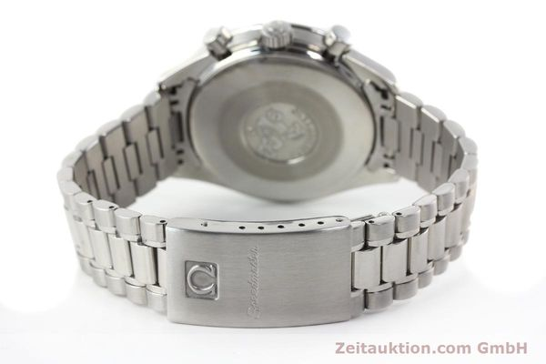 Used luxury watch Omega Speedmaster chronograph steel automatic Kal. 1140 ETA 2890-2  | 141681 12
