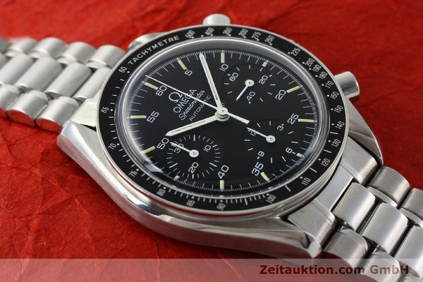 Used luxury watch Omega Speedmaster chronograph steel automatic Kal. 1140 ETA 2890-2  | 141681 15