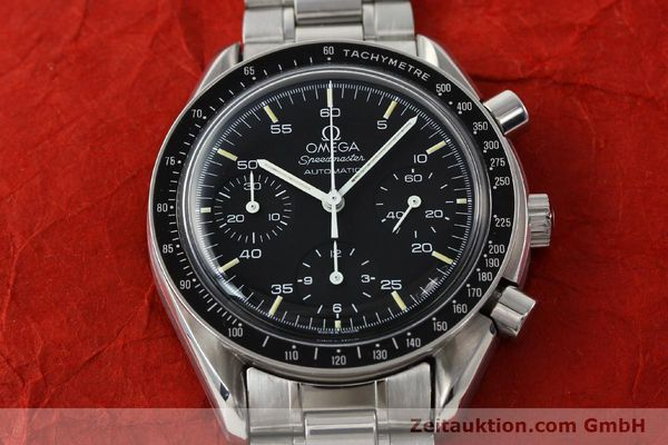 Used luxury watch Omega Speedmaster chronograph steel automatic Kal. 1140 ETA 2890-2  | 141681 16