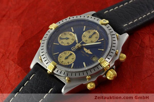 Used luxury watch Breitling Chronomat chronograph steel / gold automatic Kal. B13 VAL 7750 Ref. 81.950 / B13047  | 141683 01