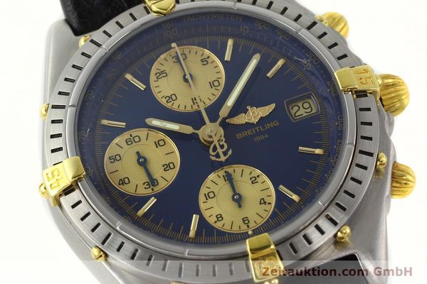 Used luxury watch Breitling Chronomat chronograph steel / gold automatic Kal. B13 VAL 7750 Ref. 81.950 / B13047  | 141683 02