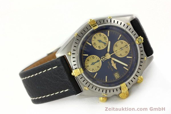 Used luxury watch Breitling Chronomat chronograph steel / gold automatic Kal. B13 VAL 7750 Ref. 81.950 / B13047  | 141683 03