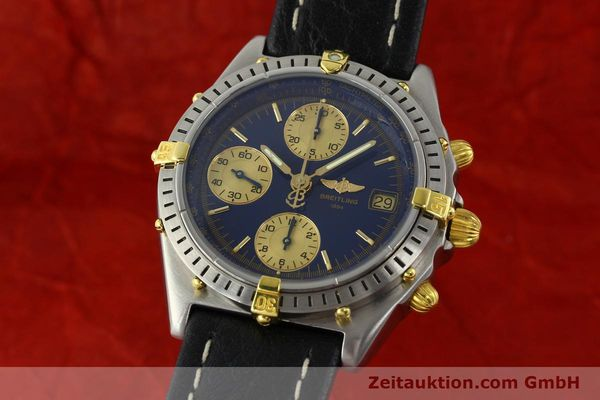 Used luxury watch Breitling Chronomat chronograph steel / gold automatic Kal. B13 VAL 7750 Ref. 81.950 / B13047  | 141683 04