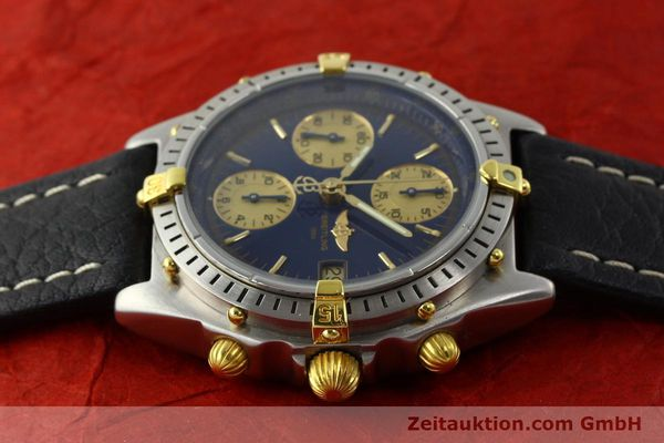 Used luxury watch Breitling Chronomat chronograph steel / gold automatic Kal. B13 VAL 7750 Ref. 81.950 / B13047  | 141683 05