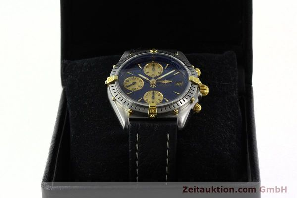 Used luxury watch Breitling Chronomat chronograph steel / gold automatic Kal. B13 VAL 7750 Ref. 81.950 / B13047  | 141683 07