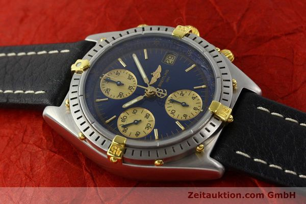 Used luxury watch Breitling Chronomat chronograph steel / gold automatic Kal. B13 VAL 7750 Ref. 81.950 / B13047  | 141683 13
