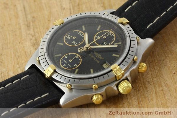 Used luxury watch Breitling Chronomat chronograph steel / gold automatic Kal. VAL 7750 Ref. 81.950  | 141684 01