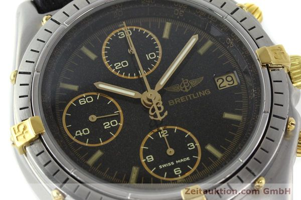 Used luxury watch Breitling Chronomat chronograph steel / gold automatic Kal. VAL 7750 Ref. 81.950  | 141684 02
