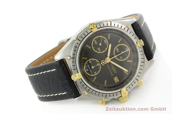 Used luxury watch Breitling Chronomat chronograph steel / gold automatic Kal. VAL 7750 Ref. 81.950  | 141684 03