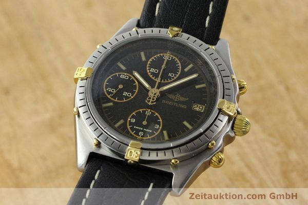 Used luxury watch Breitling Chronomat chronograph steel / gold automatic Kal. VAL 7750 Ref. 81.950  | 141684 04