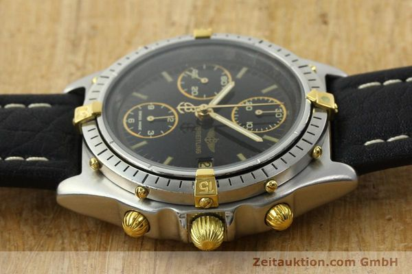 Used luxury watch Breitling Chronomat chronograph steel / gold automatic Kal. VAL 7750 Ref. 81.950  | 141684 05