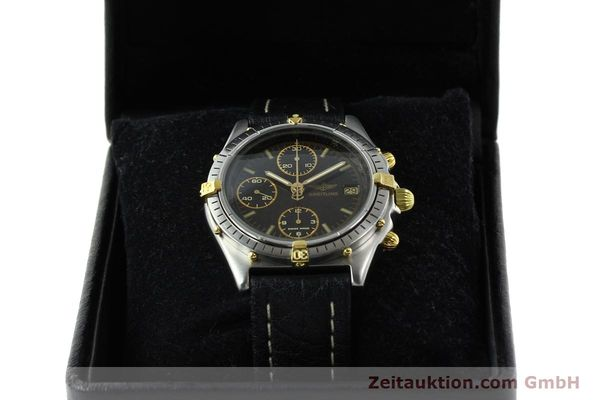 Used luxury watch Breitling Chronomat chronograph steel / gold automatic Kal. VAL 7750 Ref. 81.950  | 141684 07
