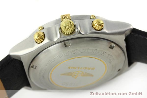 Used luxury watch Breitling Chronomat chronograph steel / gold automatic Kal. VAL 7750 Ref. 81.950  | 141684 08