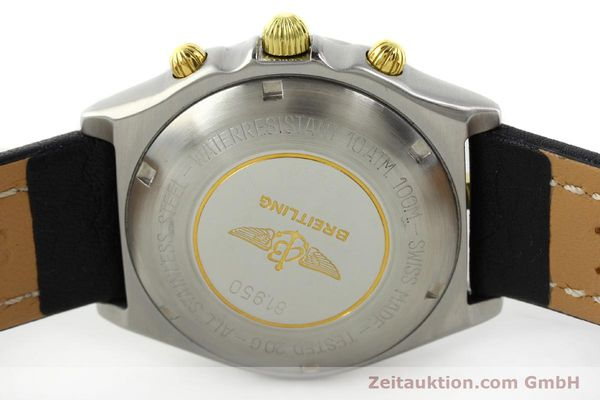 Used luxury watch Breitling Chronomat chronograph steel / gold automatic Kal. VAL 7750 Ref. 81.950  | 141684 09