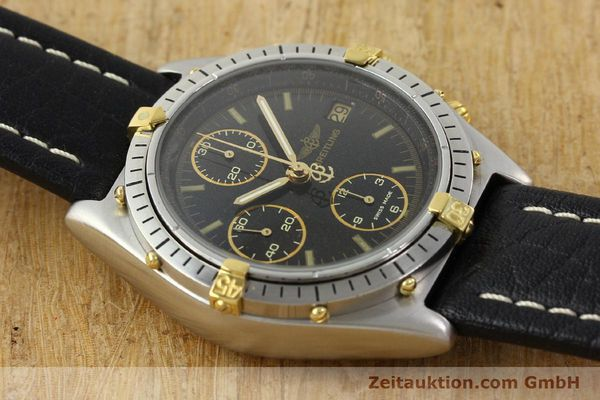 Used luxury watch Breitling Chronomat chronograph steel / gold automatic Kal. VAL 7750 Ref. 81.950  | 141684 12