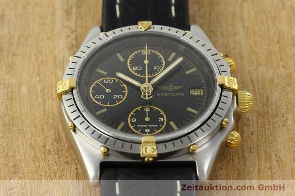 Used luxury watch Breitling Chronomat chronograph steel / gold automatic Kal. VAL 7750 Ref. 81.950  | 141684 13