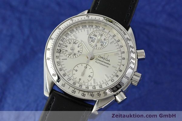 Used luxury watch Omega Speedmaster chronograph steel automatic Kal. 1151 Ref. 175.0084  | 141685 04