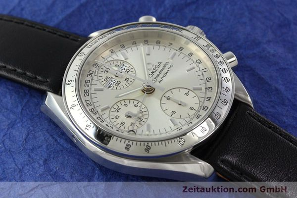 Used luxury watch Omega Speedmaster chronograph steel automatic Kal. 1151 Ref. 175.0084  | 141685 13