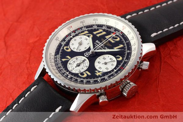 Used luxury watch Breitling Navitimer chronograph steel automatic Kal. B28 ETA 2892-2 Ref. A39022.1  | 141687 01