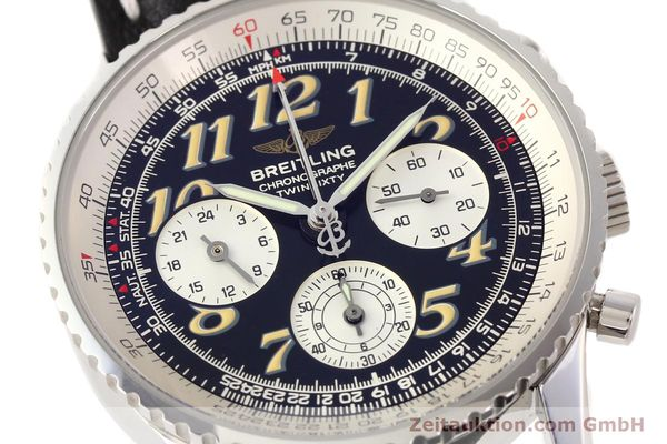 Used luxury watch Breitling Navitimer chronograph steel automatic Kal. B28 ETA 2892-2 Ref. A39022.1  | 141687 02