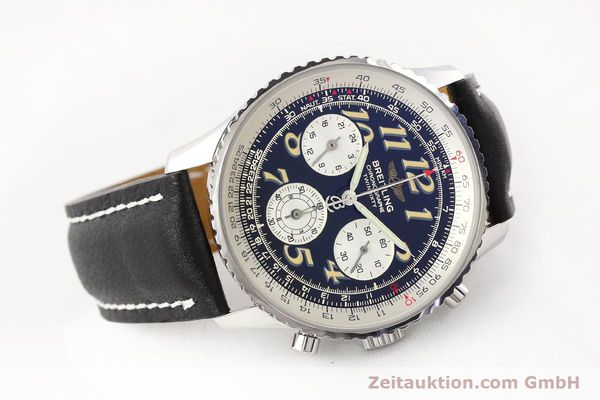 Used luxury watch Breitling Navitimer chronograph steel automatic Kal. B28 ETA 2892-2 Ref. A39022.1  | 141687 03