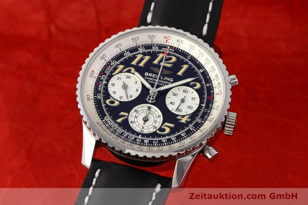 Used luxury watch Breitling Navitimer chronograph steel automatic Kal. B28 ETA 2892-2 Ref. A39022.1  | 141687 04