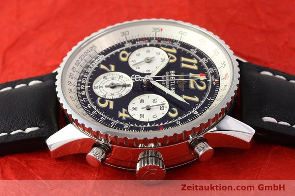 Used luxury watch Breitling Navitimer chronograph steel automatic Kal. B28 ETA 2892-2 Ref. A39022.1  | 141687 05