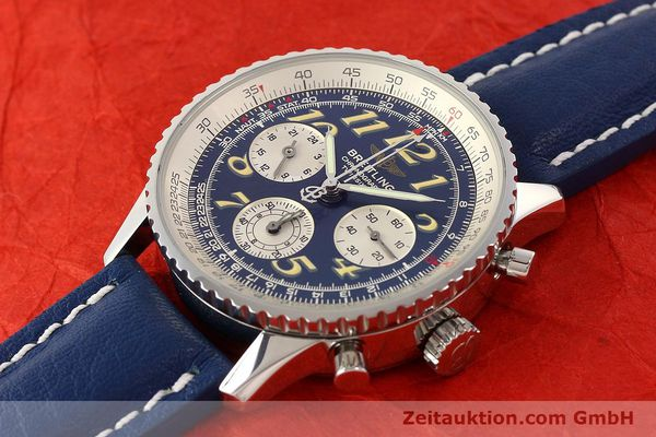 Used luxury watch Breitling Navitimer chronograph steel automatic Kal. ETA 2824-2 Ref. A39022.1  | 141688 01