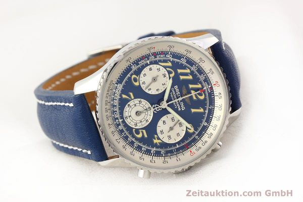Used luxury watch Breitling Navitimer chronograph steel automatic Kal. ETA 2824-2 Ref. A39022.1  | 141688 03