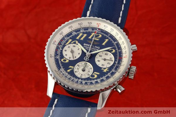 Used luxury watch Breitling Navitimer chronograph steel automatic Kal. ETA 2824-2 Ref. A39022.1  | 141688 04