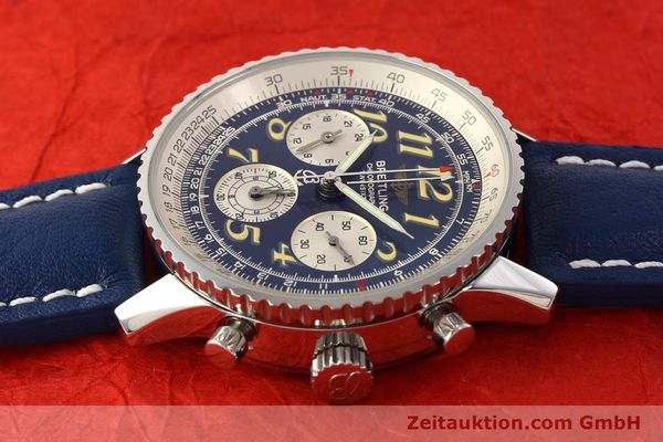 Used luxury watch Breitling Navitimer chronograph steel automatic Kal. ETA 2824-2 Ref. A39022.1  | 141688 05