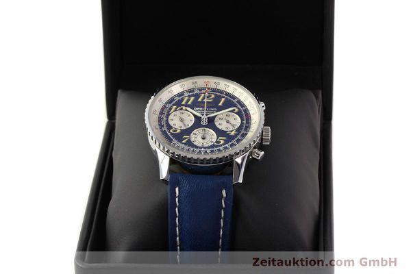Used luxury watch Breitling Navitimer chronograph steel automatic Kal. ETA 2824-2 Ref. A39022.1  | 141688 07