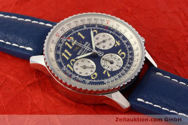 Used luxury watch Breitling Navitimer chronograph steel automatic Kal. ETA 2824-2 Ref. A39022.1  | 141688 13