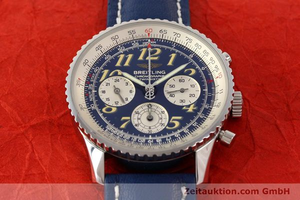 Used luxury watch Breitling Navitimer chronograph steel automatic Kal. ETA 2824-2 Ref. A39022.1  | 141688 14